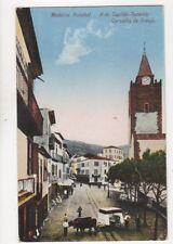 Madeira Funchal R do Capitao Tenente Carvalho de Araujo Vintage Postcard 138b