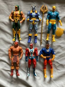 Qty. 6 DC Universe Classics Action Figure Loose Lot Super Powers JLA