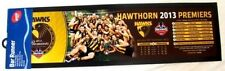 99851 HAWTHORN HAWKS AFL 2013 PREMIERS TEAM IMAGE PHOTO RUBBER BAR RUNNER.