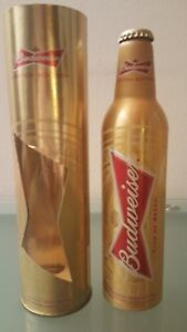 Budweiser Rare Limited Edition 2014 World Cup Bottle Empty with Box