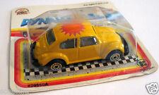 Volkswagen VW Beetle Vintage Yellow Bug Zee DynaWheels 1:64 Scale in Package