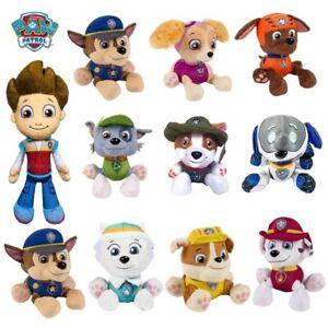 "Paw Patrol Pup Pals 5'' 8"" Skye Zuma Rocky Marshall Kids Gift Soft Plush Toy Dog"