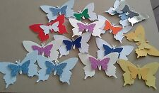CLEARANCE *** 100 MIXED  BUTTERFLYS  IDEAL CARD TOPPERS CONFETTI