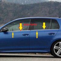 Für VW Golf VI  Fensterleisten Blende 4tlg Edelstahl Chrom 2008-2013