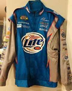 Chase Authentics Drivers Line Rusty Wallace Last Call Miller Lite XL Jacket
