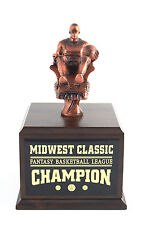 FANTASY BASKETBALL ARMCHAIR 12 YEAR TROPHY!! FREE ENGRAVING!! SHIPS IN 1 DAY!!