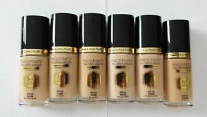 Max Factor Facefinity All Day Flawless SPF20 VEGAN 30ml - Please Choose Shade: