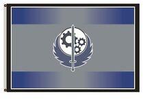 3--New California Brotherhood of Steel Gray Fallout 4 Exclusive Flag 3x5 feet