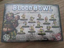 BLOOD BOWL THE GREENFIELD GRASSHUGGERS HALFLING BLOOD BOWL TEAM