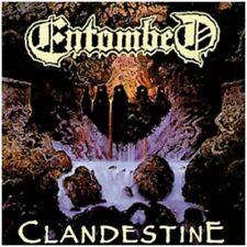 ENTOMBED-clandestine-NOUVEAU FDR VINYL LP