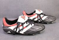 SB216 ADIDAS Predator Gr. 48,5 Fußballschuhe Outdoor schwarz weiß rot Vintage