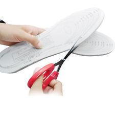2 x Pair Memory Foam Insoles Ladies Men Shoes 3 4 5 6 7 8 9 Adjustable All Sizes