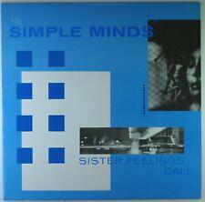 "12"" LP - Simple Minds - Sister Feelings Call - G1015 - cleaned"