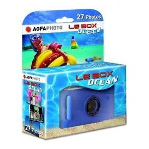 2x Einwegkamera Unterwasser Neuware 27Fotos Agfa