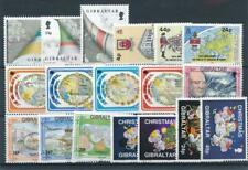 [347632] Gibraltar good lot of stamps very fine MNH
