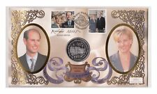 Gibraltar 1 Crown 1999 Royal Wedding Prinz Edward/Sophie Rhys-Jones Nr.1/37/14