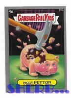 2012 Garbage Pail Kids Brand New Series 1 - 21b Piggy Peyton Card Gray Boarder