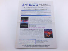 Art Bell Ham Radio's W6OBB Collectible Paper Chase Brochure Art of Talk More