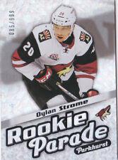 16-17 Parkhurst Dylan Strome /999 Rookie Parade Blackhawks 2016