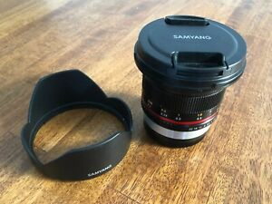 Samyang 12mm f2 Fujifilm - Lightly used
