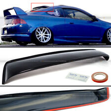 Fit Acura Rsx Dc5 Type-S Abs Plastic Black Rear Roof Spoiler Window Visor Wing
