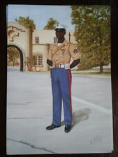POSTCARD UNITED STATES MARINE CORPS - CORPOROAL SECURITY FORCE BATTL ATLANTIC NO