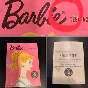 #1 Barbie - 1959 Version #2, R, Vintage Barbie Fashion Booklet