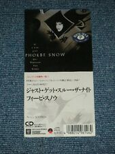 """PHOEBE SNOW Japan 1989 Tall 3"""" CD Single IF I CAN JUST GET THROUGH THE NIGHT"""