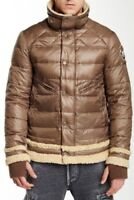"""Men`s JET LAG Down Filled Puffer Jacket Size XL 44"""" Chest Coat Gold Brown"""