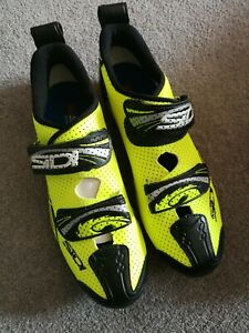 Sidi T4 Air Carbon Triathlon SPD Shoes - Size 44