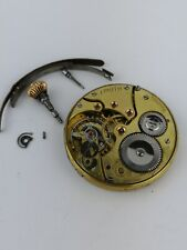 Zenith Chronometer Pocket Watch Movement for Parts or Repair - Good Balance D98
