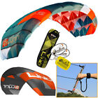 Peter Lynn UNIQ TR 2.5M Single Skin Trainer Kite 3-Line Control Bar Kiteboarding