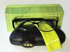 Koali Morel Eyeglasses 7055K 52/14/125 NN060 Black Casual Frame Made in France