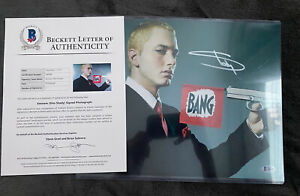 Eminem Autograph with Becket COA