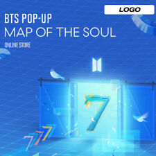 BTS POP-UP : MAP OF THE SOUL Official MD LOGO Ver + Tracking Number