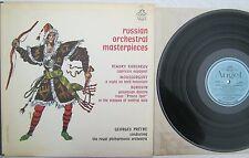 Russian Orchestral Masterpiecs Korsakov Moussorgsky LP Angel 35951 MONO EX
