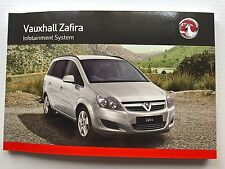 Vauxhall ZAFIRA AUDIO CD 30 & 40 MP3 TOUCH AND CONNECT Manual