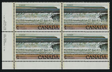 Canada 726 BL Block Plate 1 MNH Fundy National Park