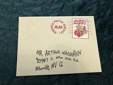 Grinch Jim Carrey Movie Prop Coa Mail Christmas Letter Screen Used
