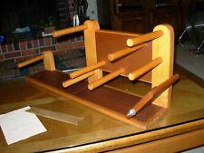 Beautiful Handmade Vintage Inkle Loom, signed by Leroy Smith Berkeley Ca 1977