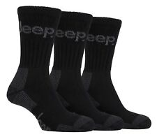 Mens Luxury Jeep Terrain Walking Work Hiking Socks Black Size 6-11 Uk, 39-45 Eur