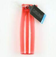 CAMELBAK Brook 20 oz Water Bottle Coral Pink White Hydration Leak Proof Cap