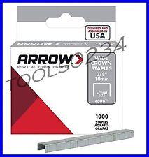 "Genuine Arrow Heavy Duty Staples  3/8"" 1,000 Box #606  Free Shipping"