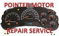 GM Chevy Silverado Tahoe Instrument Cluster Gauge Stepper Motor Repair service
