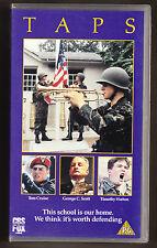 TAPS - TOM CRUISE, GEORGE C SCOTT, TIMOTHY HUTTON - VHS PAL (UK) VIDEO