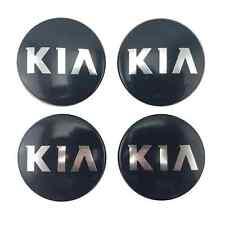 OEM Set of 4 Kia Forte Optima Rio Sportage 11-14 52960-3W200 Black Center Cap