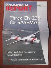 EADS CASA MILITARY TRANSPORT CN-235 SASEMAR C-295 POLAND FINLAND A400M MRTT USCG