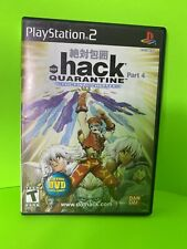 .hack Quarantine (PS2 Playstation 2) - Case & instruction manual Only