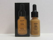 NYX Total Control Drop Foundation color TCDF13 Golden 0.43 oz New In Box