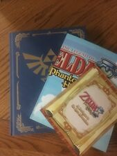 LEGEND OF ZELDA PHANTOM HOURGLASS COLLECTOR EDITION Strategy Guide w/ MAP Poster